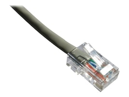 Axiom Cat6 550MHz UTP Bootless Patch Cable, Gray, 25ft, C6NB-G25-AX, 17535132, Cables