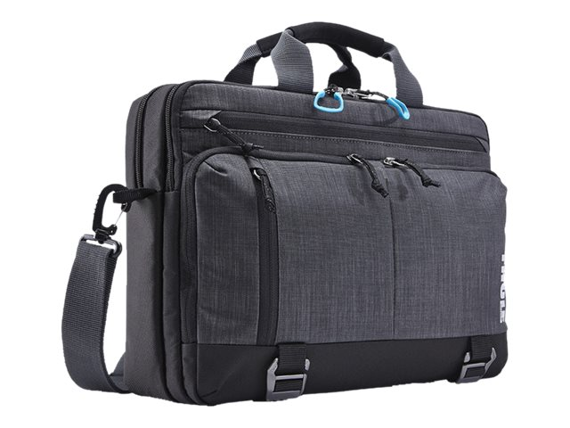 Case Logic Stravan Deluxe Laptop Bag for 15 MacBook Pro, Gray, TSDB-115GRAY, 17661454, Carrying Cases - Notebook