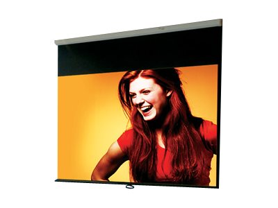Draper Luma Manual Projection Screen, High Contrast Grey, 4:3, 6ft