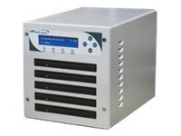 Vinpower 4 Target Slim Micro Compact DVD CD Network Duplicator, SLIMMICRO-DVD-S4T, 15125762, Disc Duplicators