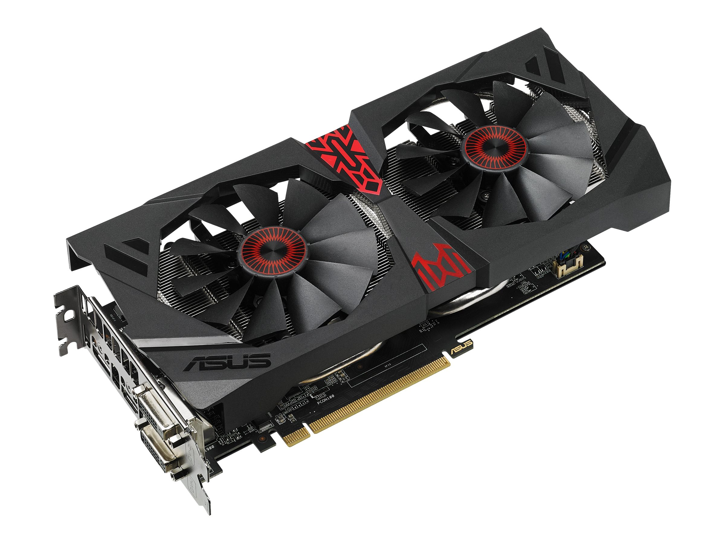 Asus STRIX R9 380 PCIe 3.0 Overclocked Graphics Card, 4GB GDDR5, STRIXR9380DC2OC4GD5G
