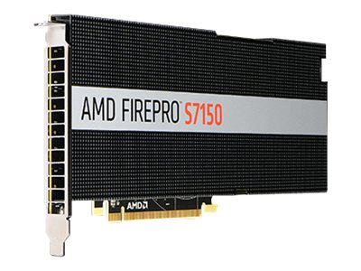 Sapphire FirePro S7150 PCIe 3.0 Graphics Card, 8GB GDDR5, 100-505721, 31485581, Graphics/Video Accelerators