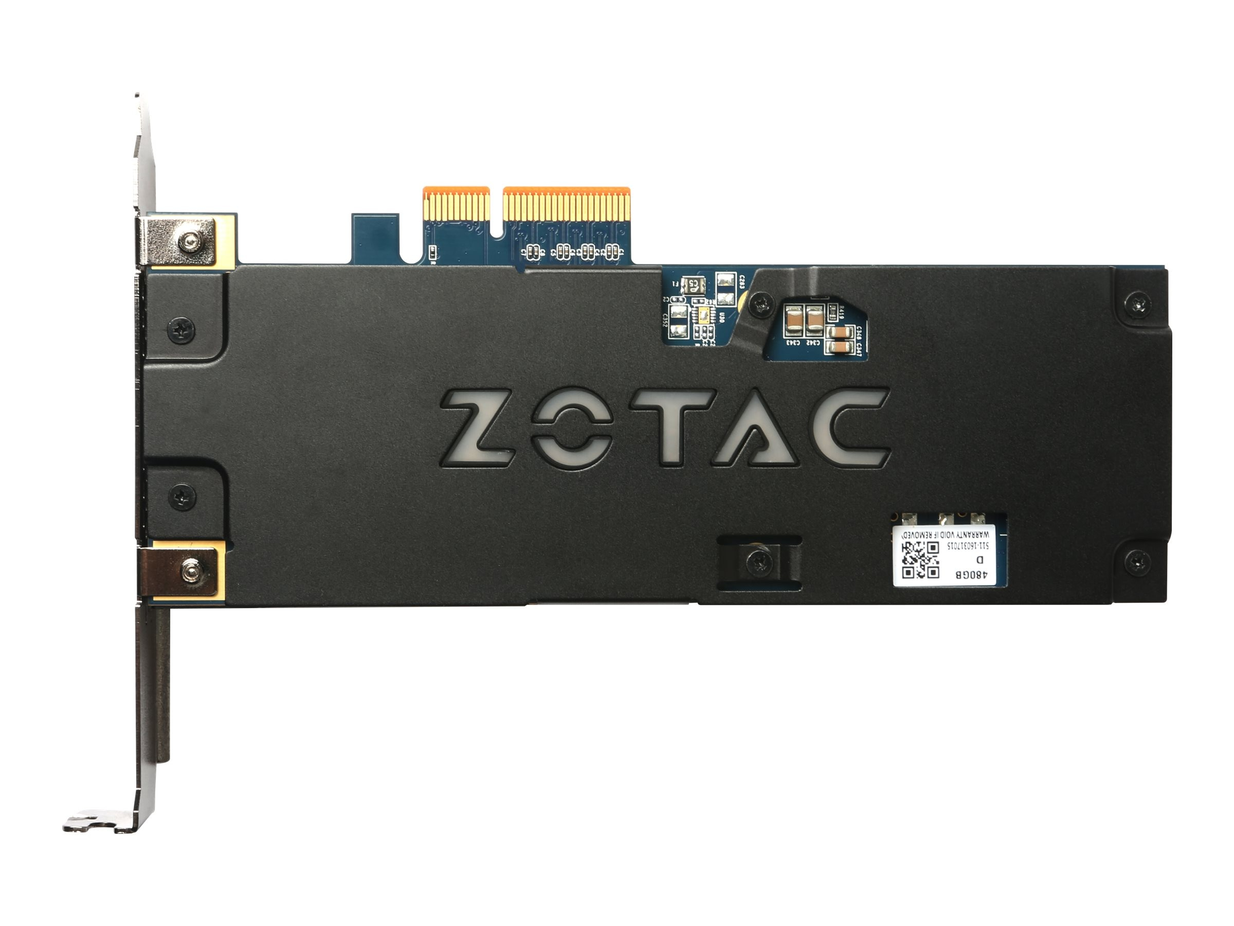 Zotac 480GB Sonix LED PCIe Solid State Drive - Zotac 10th Anniversary, ZTSSD-PG3-480G-LED