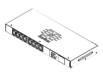 Raritan PDU 5.0kV 208V 24A 1-ph 1U L6-30P Input (6) C13, (2) C19 Outlets, PX3-5201R-K1, 18384081, Power Distribution Units