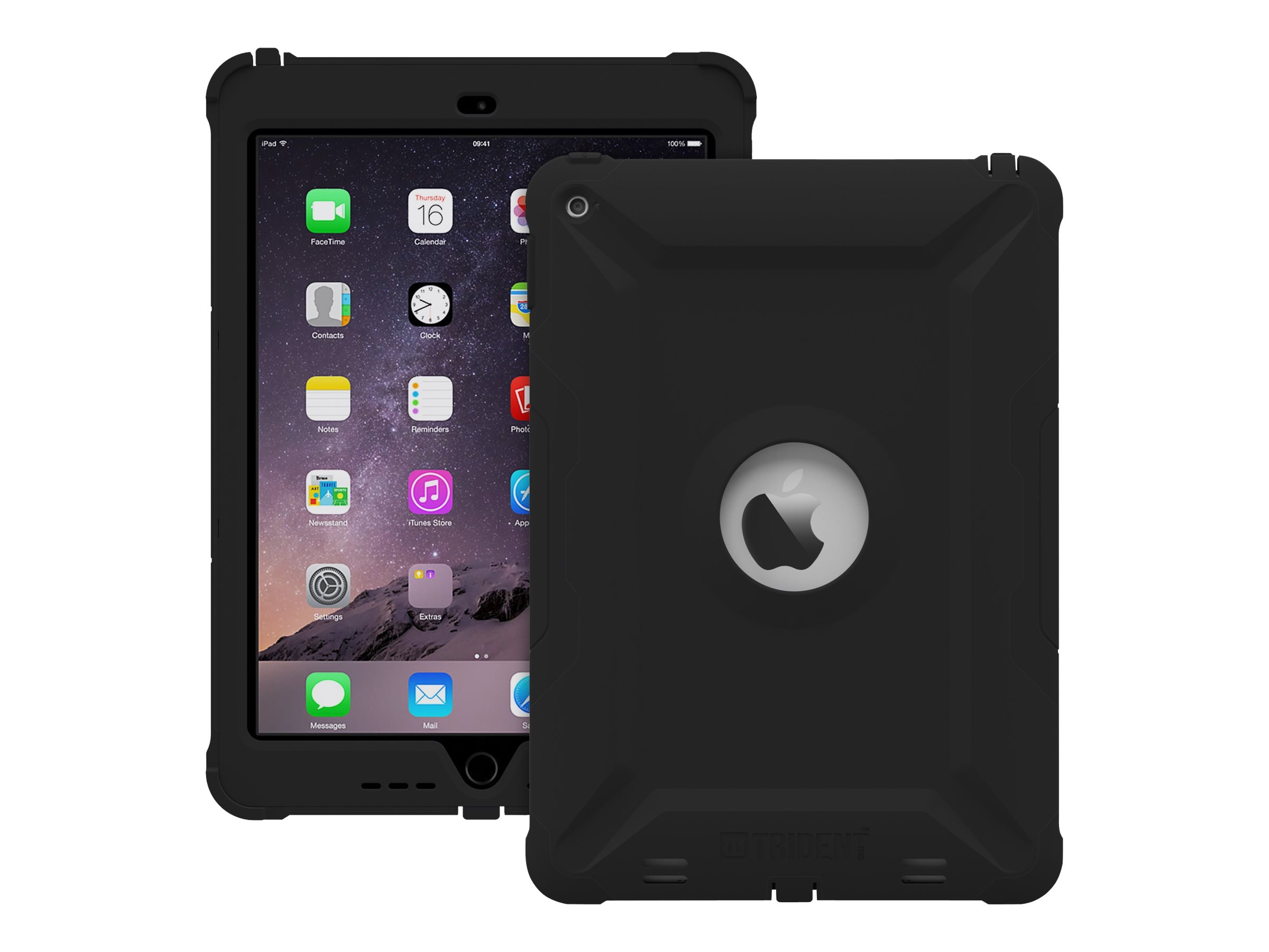 Trident Case 2015 Kraken AMS Case for iPad Air 2, Black