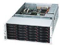 Supermicro 4U Storage Chassis, 7xLP Slots, 36x HS HDD Bays, 1400W RPSU, Black, CSE-847A-R1400LPB, 10902649, Cases - Systems/Servers