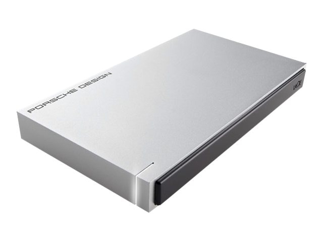 Lacie 500GB Porsche Design Slim Drive P'9223 USB 3.0 Portable Hard Drive
