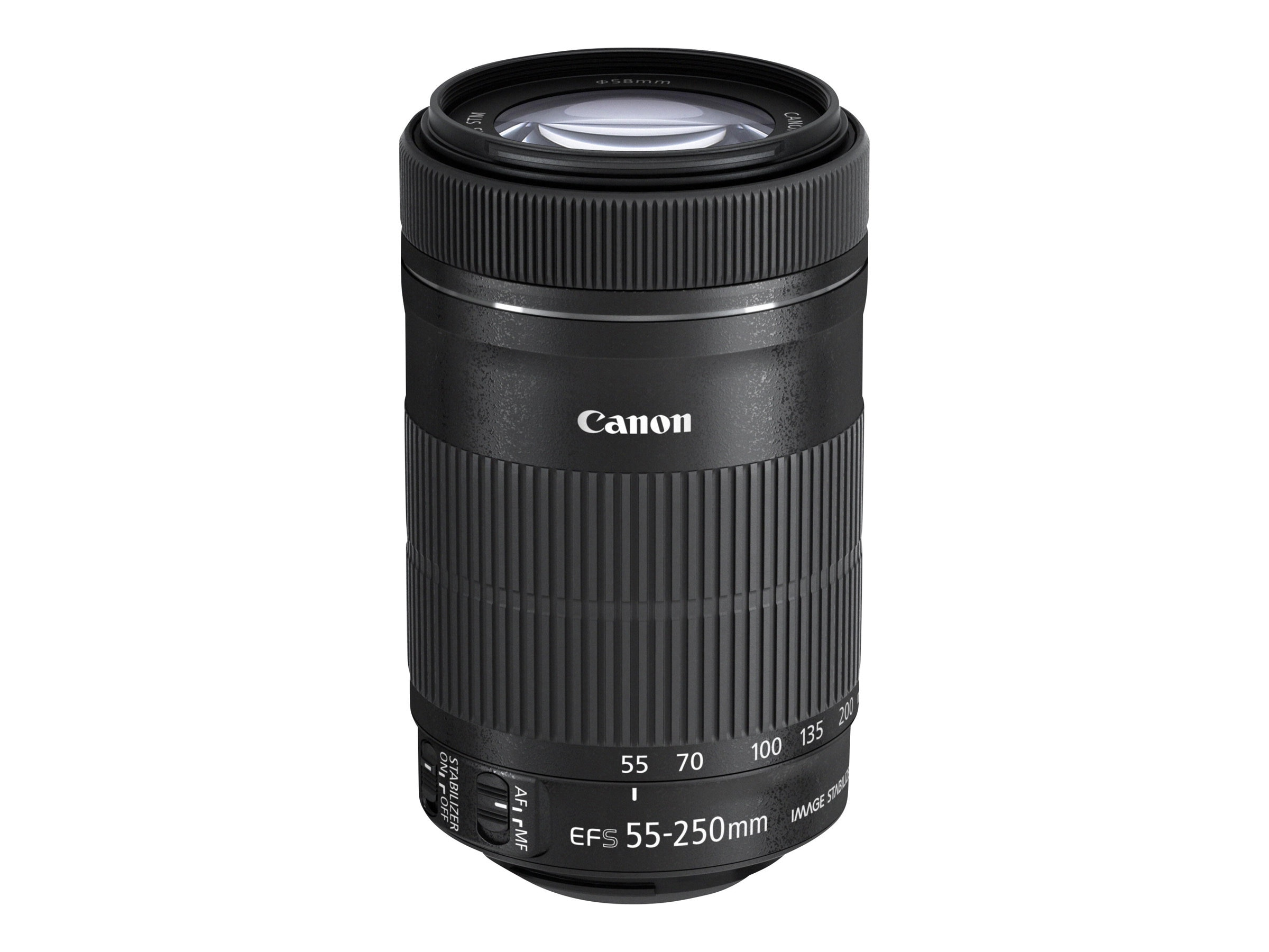 Canon EF-S 55-250mm f 4-5.6 IS STM Telephoto Zoom Lens, 8546B002, 16241554, Camera & Camcorder Lenses & Filters