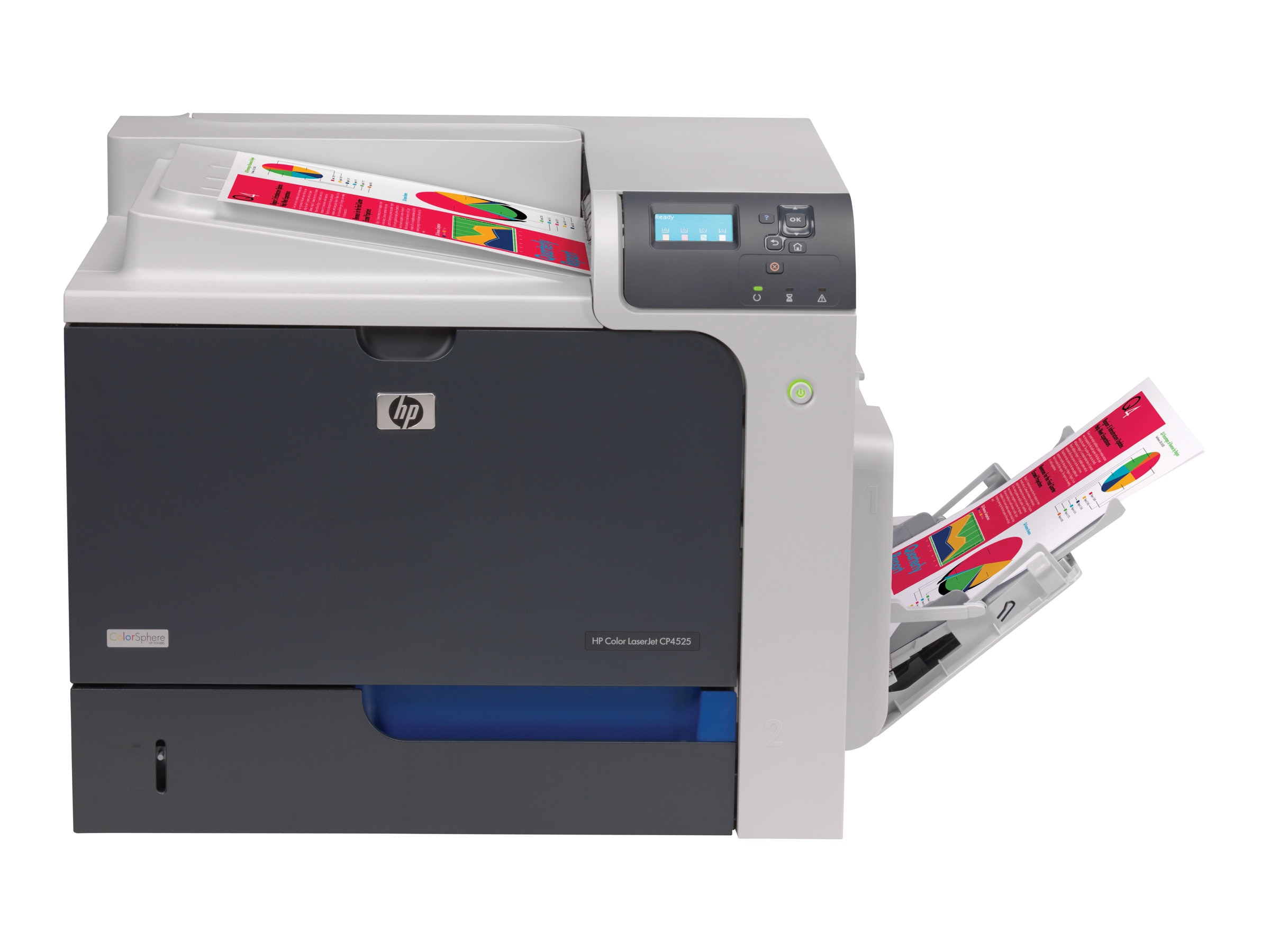 HP Color LaserJet CP4025n Printer (VPA), CC489A#BGJ