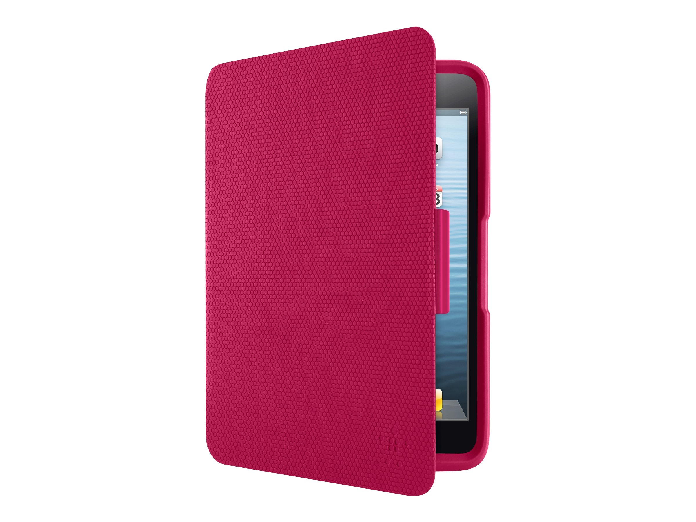 Belkin Apex360 Advanced Protection Case for iPad mini iPad mini w  Retina Display, Fuchsia Fuchsia, F7N023BTC02, 16484249, Carrying Cases - Tablets & eReaders