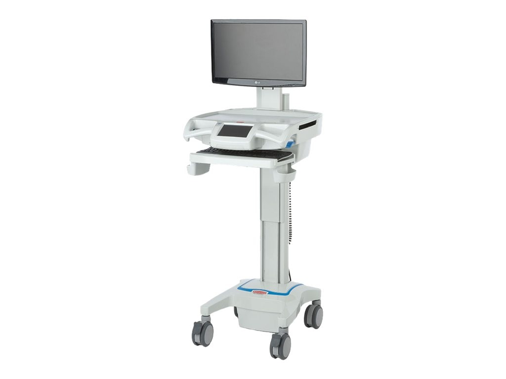 Capsa CareLink Fully-Featured LCD Computer Cart, 1817969