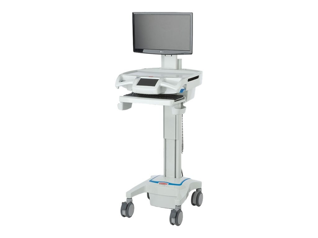 Capsa CareLink Fully-Featured LCD Computer Cart