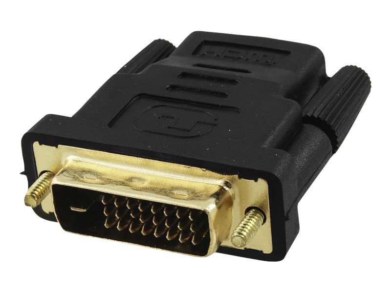 4Xem HDMI to DVI F M Adapter, 4XHDMIDVIFMA, 16920557, Adapters & Port Converters