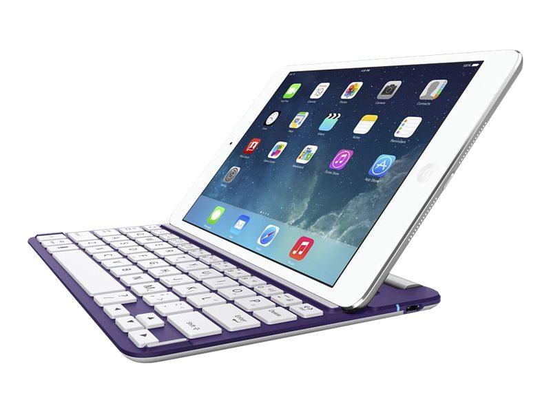 Belkin QODE FastFit Bluetooth Wireless Keyboard Case for iPad mini, F5L153TTC03