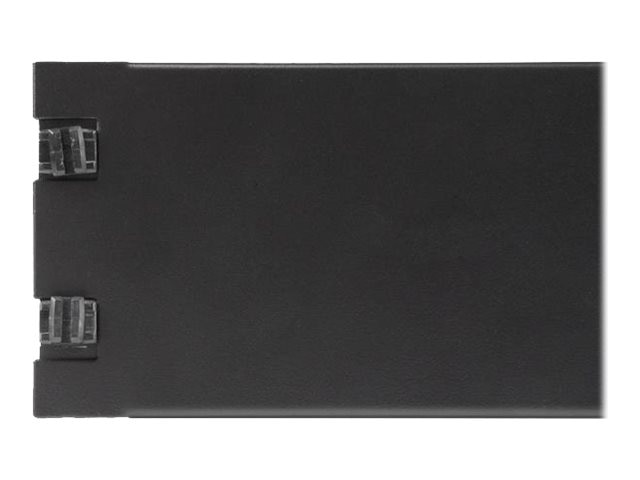 StarTech.com 2U Blank Panel for Server Racks and Cabinets, Tool-less, RKPNLTL2U