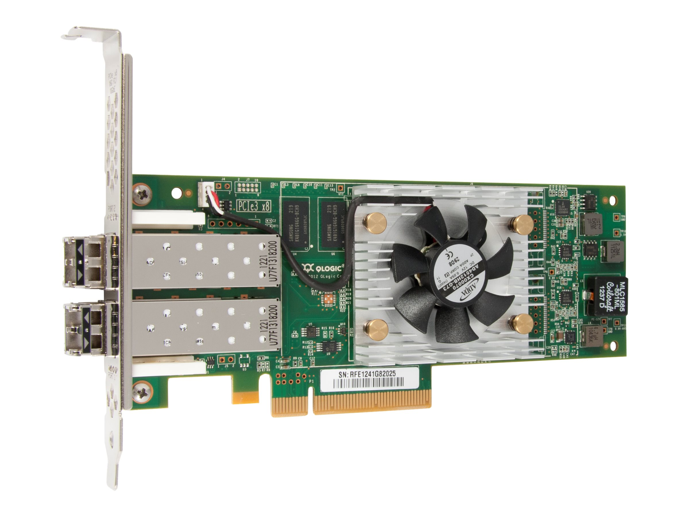 Qlogic 2600 Series Dual-Port 16Gbps Fibre Channel-to-PCIe Adapters, QLE2672-CK