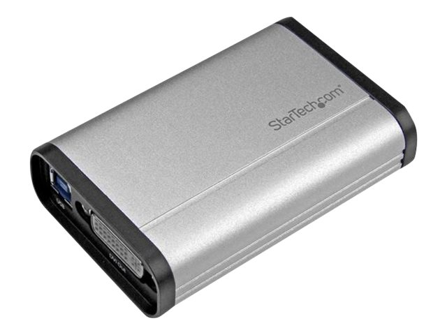 StarTech.com USB 3.0 1080p Capture Device for High-Performance DVI Video, Aluminum, USB32DVCAPRO