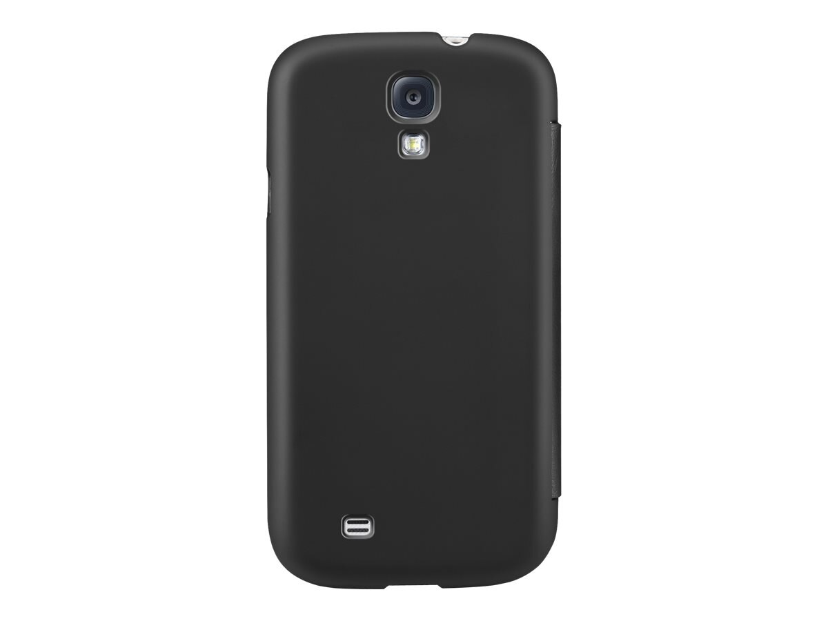 Belkin Micra Folio Case for Samsung Galaxy S4, Blacktop, F8M564BTC00