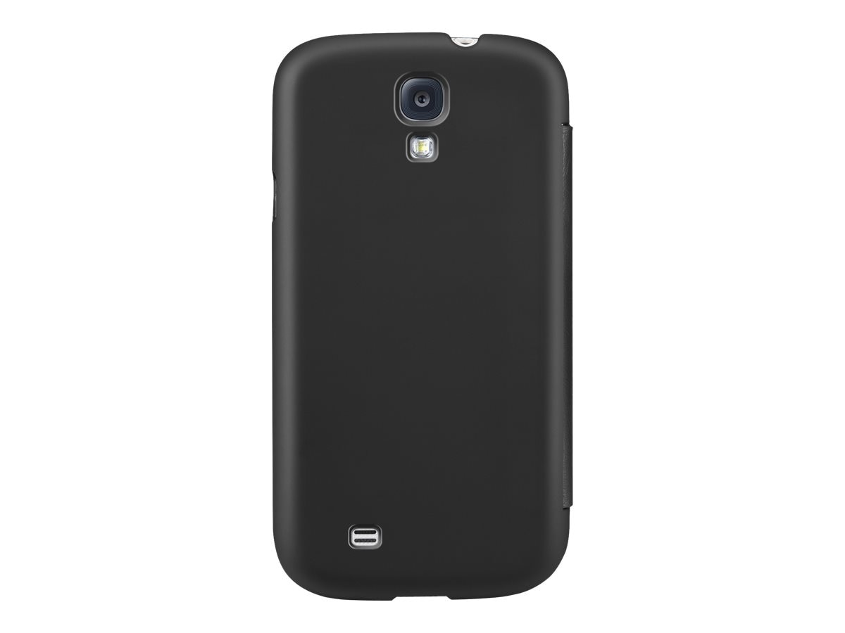 Belkin Micra Folio Case for Samsung Galaxy S4, Blacktop, F8M564BTC00, 15961218, Carrying Cases - Phones/PDAs