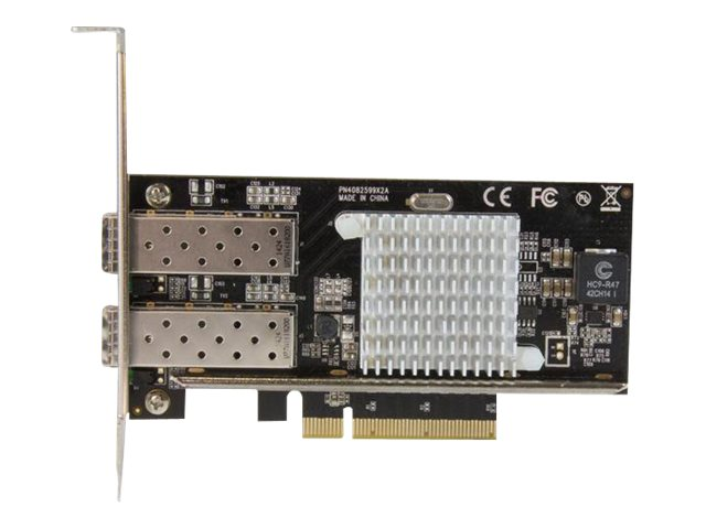 StarTech.com 2-Port 10G Fiber Network Card with Open SFP+ - PCIe, Intel Chip, PEX20000SFPI