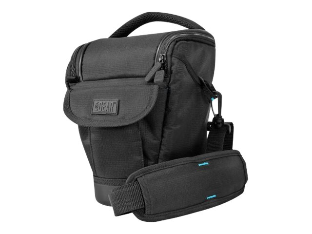 Accessory Genie Nylon SLR Holster w  Hard Shell EVA Bottom, GRSLS09100BKEW, 31473265, Carrying Cases - Camera/Camcorder