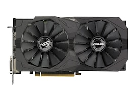 Asus AMD Radeon RX 570 PCIe Overclocked Graphics Card, 4GB GDDR5, ROG-STRIX-RX570-O4G-GAMING, 33988318, Graphics/Video Accelerators