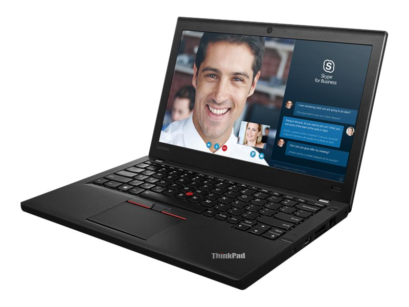 Lenovo TopSeller ThinkPad X260 2.6GHz Core i7 12.5in display, 20F6006GUS