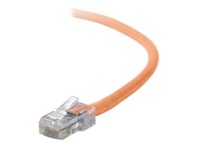 Belkin Cat5e Non-Booted UTP Patch Cable, Orange, 7ft, A3L791-07-ORG, 131134, Cables