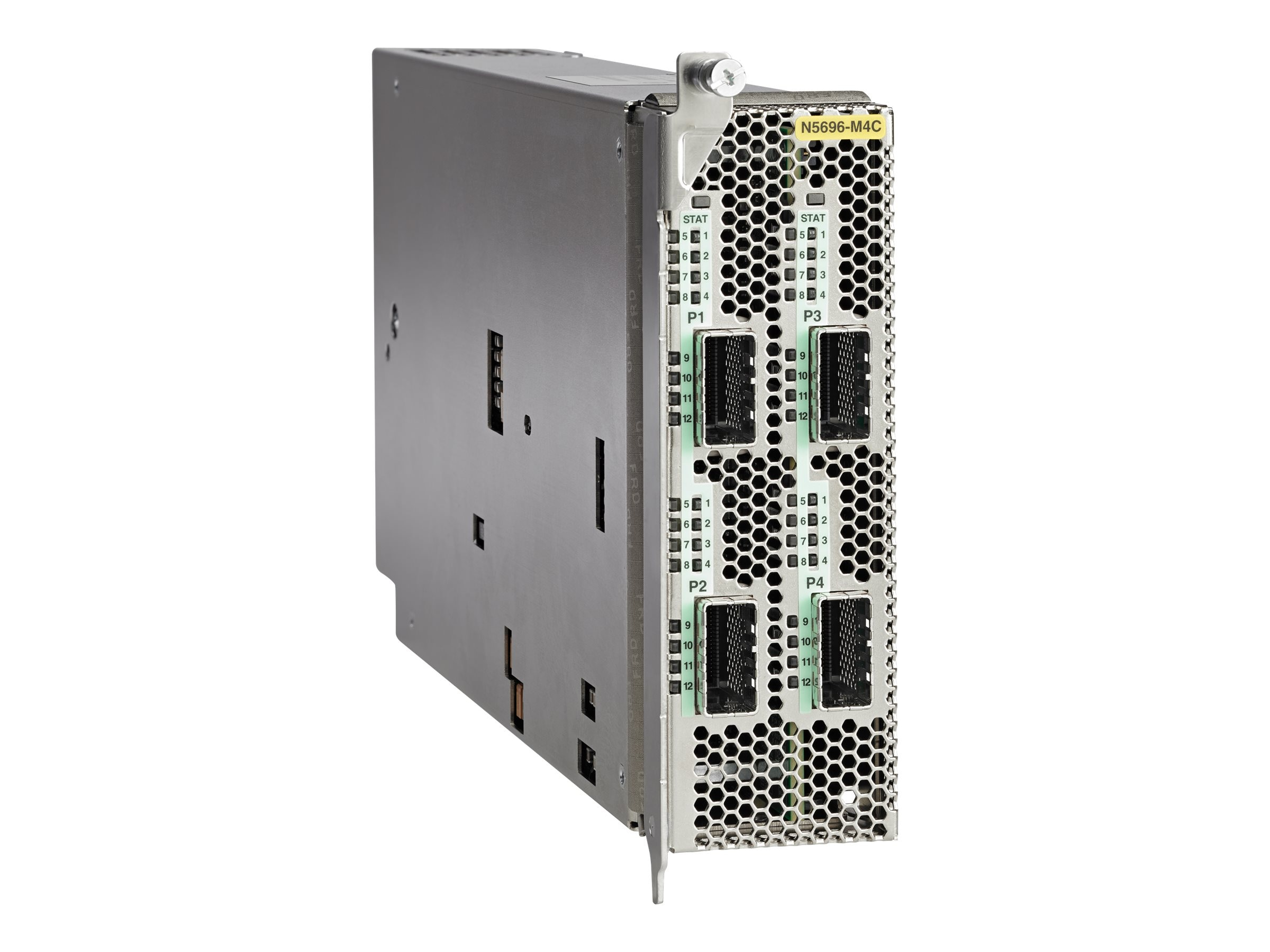 Cisco Nexus 5696Q 4-Port 100GE Ethernet Chassis Module (Spare), N5696-M4C=, 31262071, Network Device Modules & Accessories