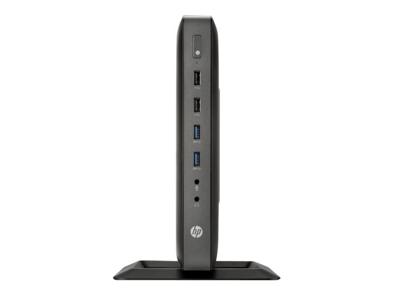 HP t620 Flexible Thin Client AMD QC GX-415GA 1.5GHz 4GB RAM 16GB Flash GbE VGA WES7P, G6F34AA#ABA