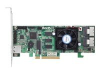 Areca Technology Dual Core SAS 6Gb s Low Profile RAID Card Support for (8) Internal Ports