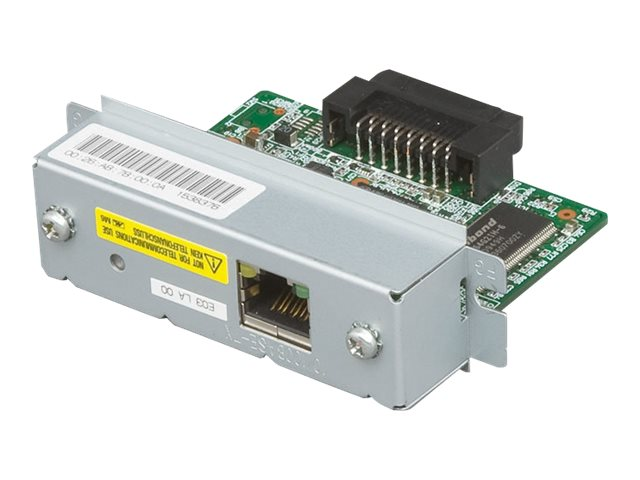 Epson E03 Ethernet 10 100MB Ip Addressable Print Server, C32C824541, 13735188, Network Print Servers
