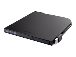 BUFFALO Portable USB 2.0 DVD Writer, DVSM-PT58U2VB, 18368428, DVD Drives - External