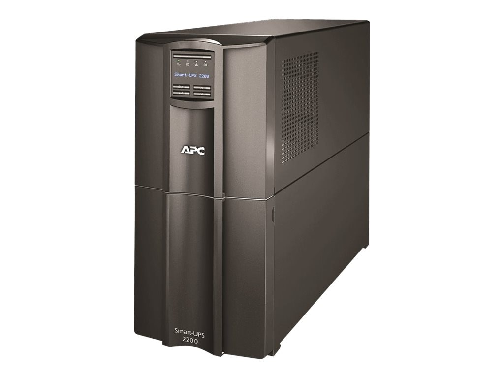 APC Smart-UPS 1920VA 1920W 120V LCD UPS (8) 5-15R (2) 5-20R Outlets Smart-Slot US, SMT2200US, 15726496, Battery Backup/UPS