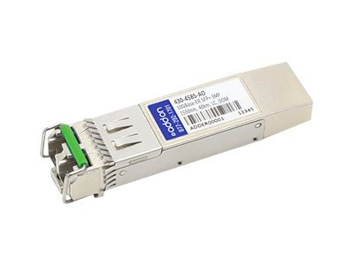 ACP-EP 10GBASE-ER SFP+ SMF For Dell 1550NM SMF 40KM LC 100  COMPATIBLE, 430-4585-AO, 17390295, Network Transceivers