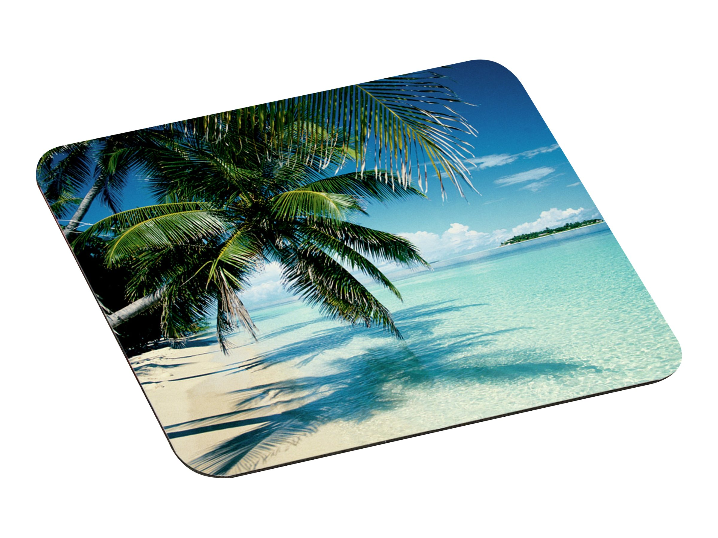 3M Foam Mouse Pad - Tropical Beach, MP114YL, 4917182, Ergonomic Products