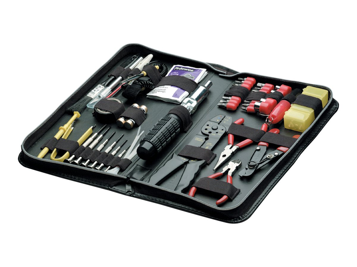 Fellowes 55-piece Computer Tool Kit Black