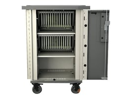Bretford Manufacturing 30-Unit EVER Cart with MiX Module System AC, T30C-P-AC-US, 31822728, Computer Carts