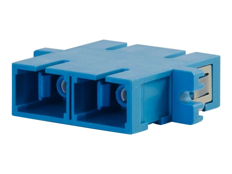 C2G SC SC Duplex Single-mode Fiber Optic Coupler, 27111, 16252595, Cable Accessories