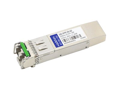 ACP-EP SFP+ 80KM 10G-SFPP-ZR TAA XCVR 10-GIG ZR DOM LC Transceiver for Brocade