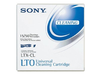 Sony LTO Cleaning Cartridge, LTX-CL, 430034, Tape Drive Cartridges & Accessories