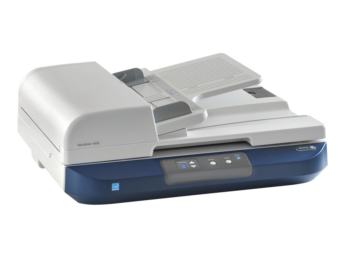 Xerox Documate 4830I Flatbed 50ppm 11x17 ADF Improved Combo B&W, XDM4830I-U, 17797925, Scanners