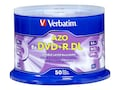 Verbatim DVD+R DL 8.5GB 8X with branded surface 50pk spindle, 97000, 16471333, DVD Media