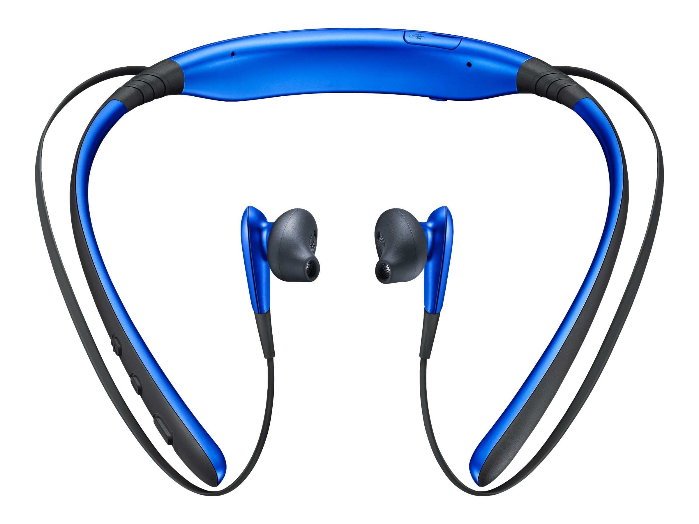Samsung Level U Wireless Headphones - Blue, EO-BG920BLEBUS