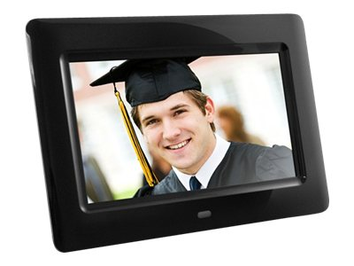 Aluratek 7 Digital Photo Frame, ADPF07SF, 31196173, Digital Picture Frames