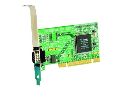 Brainboxes Universal 1-port RS232 Standard Height Card