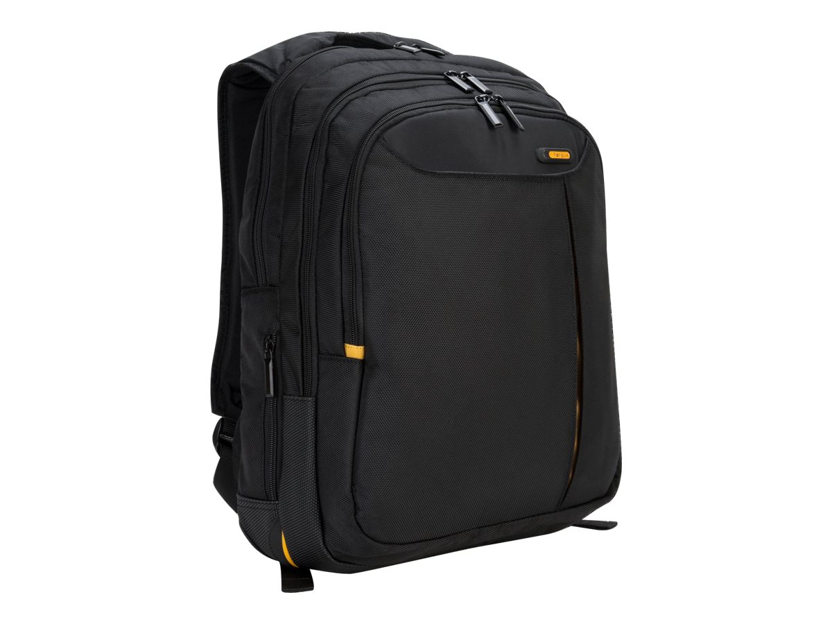 Targus Meridian Backpack Notebook Carry Case Poly, Black (Dell Only), TSB140US