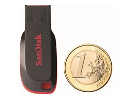SanDisk 8GB Cruzer Blade USB 2.0 Flash Drive, SDCZ50-008G-B35, 12526296, Flash Drives