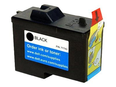 Dell Black Series 2 Ink Cartridge for Dell A940 & A960 All-in-One Printers (310-4631), 7Y743