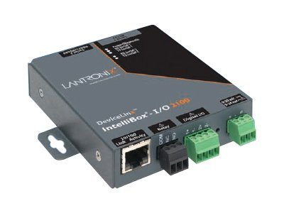 Lantronix IntelliBox-I O 2100 Industrial Device Server, IBIO21002-01, 7493215, Remote Access Servers